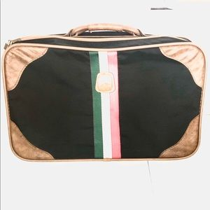 Carry On Rectangle Striped Suitcase